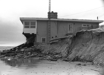 House Eroded by Lake Huron 1973