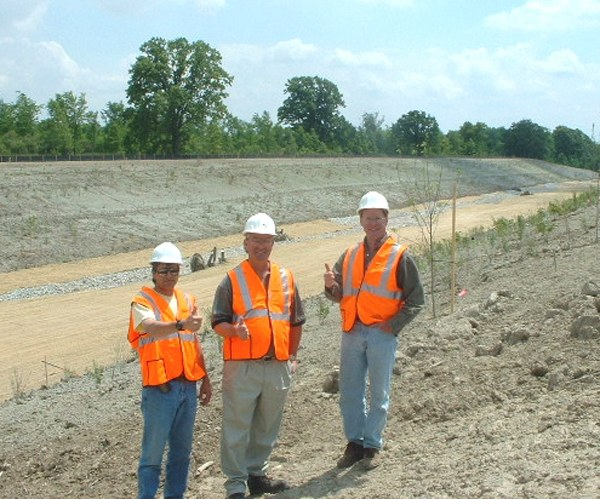 bioengineered channel petrolia landfill