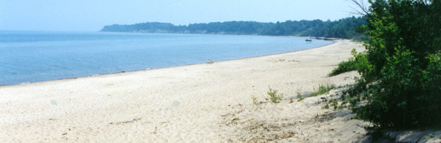 C.J. McEwen Conservation Area Beach