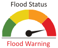 Flood Status - Flood Warning