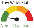 Low Water Status - Normal Conditions